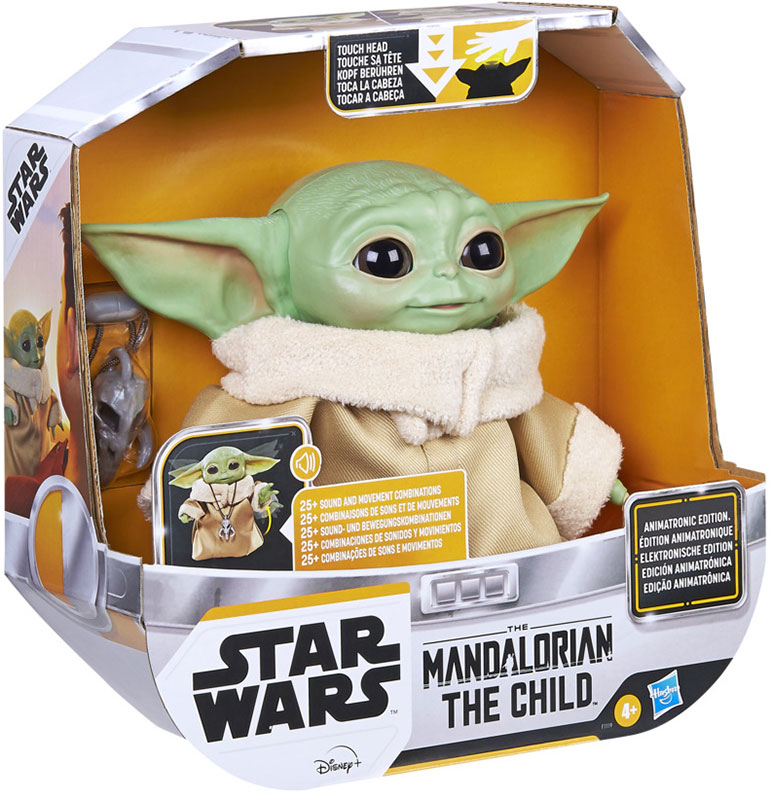 Wholesalers of Star Wars The Child Animatronic Edition toys
