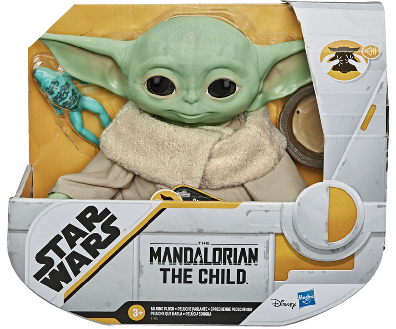 Wholesalers of Star Wars The Child Talking Plush Toy toys