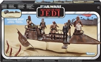 Wholesalers of Star Wars Vin Vehicle Jabbas Skiff toys Tmb