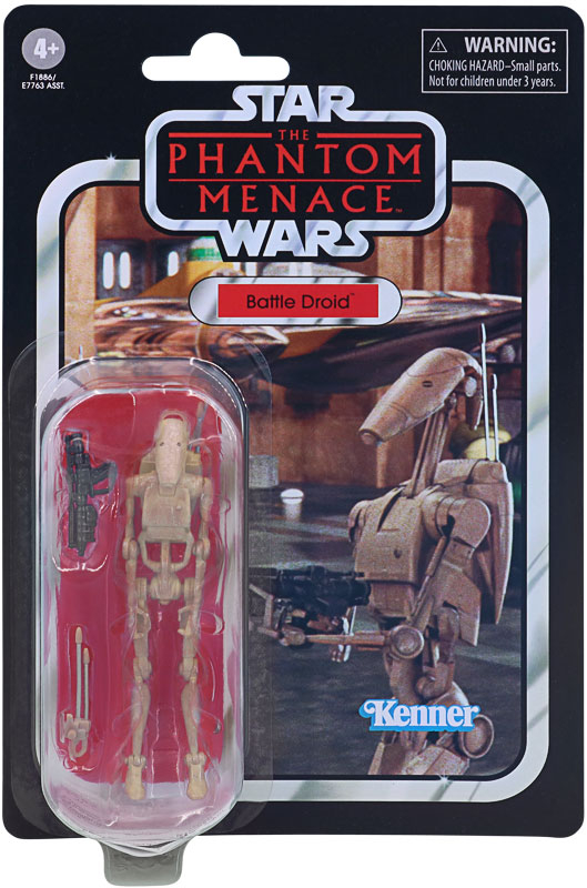 Wholesalers of Star Wars Vintage E1 Battle Droid toys