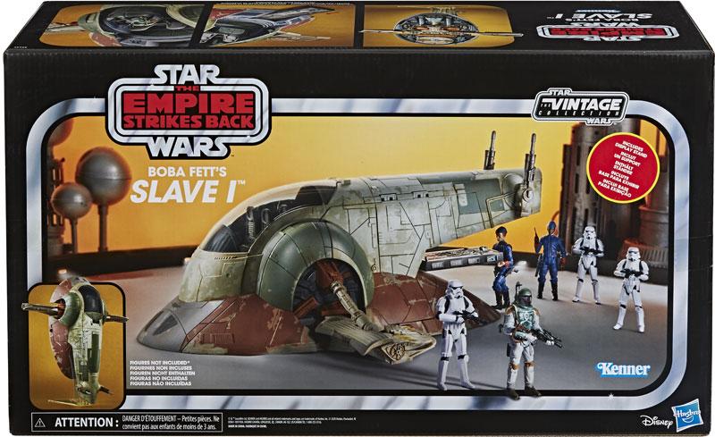 Wholesalers of Star Wars Vintage E5 Slave 1 toys