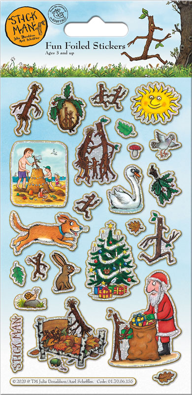 Wholesalers of Stick Man Stickers toys
