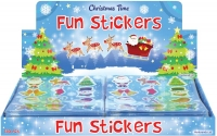 Wholesalers of Stickers Christmas 10 X 11cm toys image 2