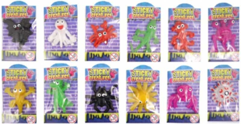 Wholesalers of Sticky Creatures toys