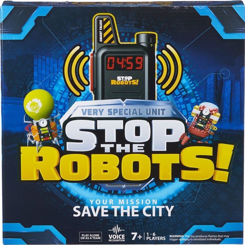 Wholesalers of Stop The Robots toys