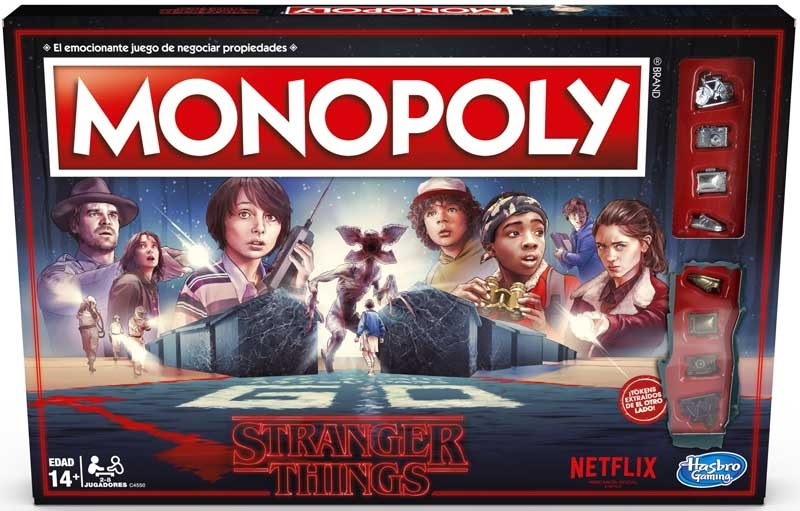 Wholesalers of Stranger Things Monopoly toys