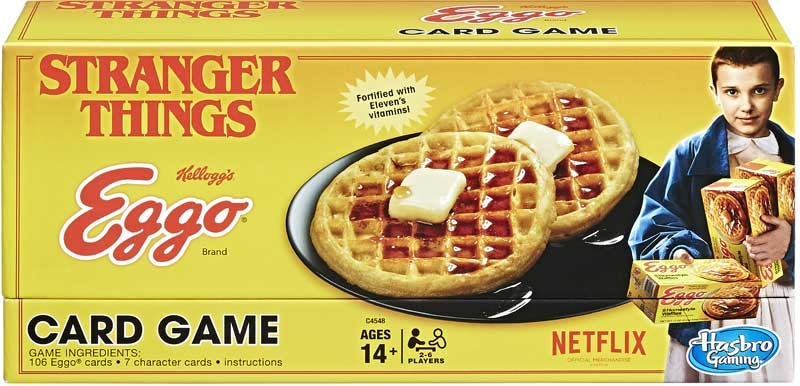 Wholesalers of Stranger Things Eggo Card Game toys