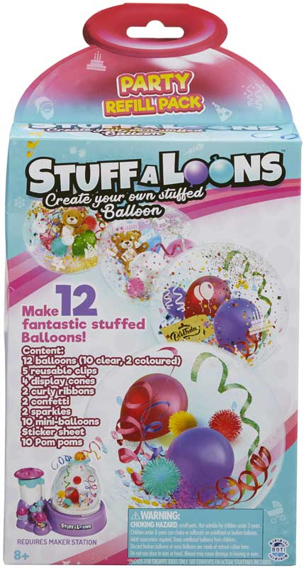 Wholesalers of Stuff-a-loons Party Pack toys