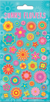Wholesalers of Sunny Flowers Sparkle Stickers toys image