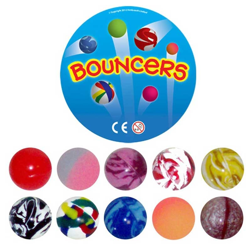 Wholesalers of Super Bouncers 32mm toys