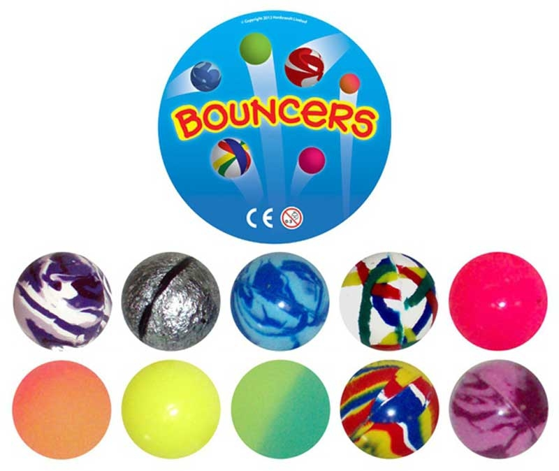 Wholesalers of Super Bouncers 45mm toys