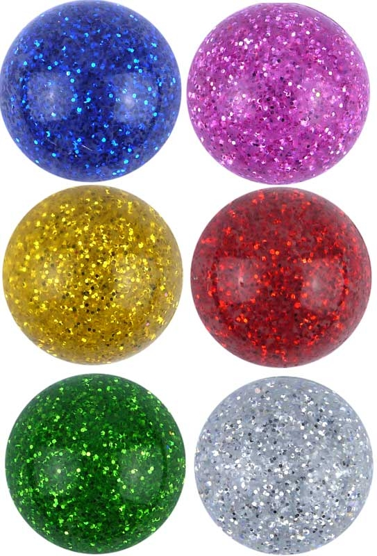 Wholesalers of Super Bouncers Ball Jet 3.5cm Glitter toys