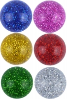 Wholesalers of Super Bouncers Ball Jet 3.5cm Glitter toys image