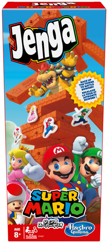 Wholesalers of Super Mario Jenga toys