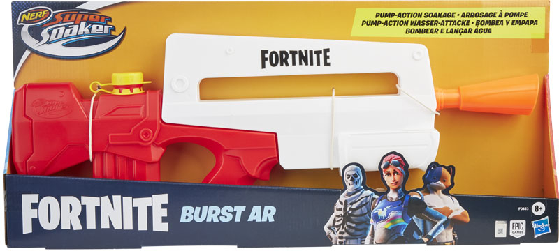 Wholesalers of Super Soakers Fortnite Burst Ar toys