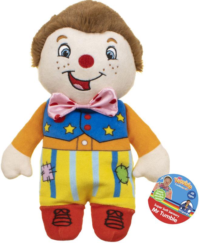 Wholesalers of Super Soft Mr Tumble Sensory Soft Toy - Swing Ticket toys