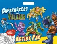 Wholesalers of Superheros Artist Pad toys image