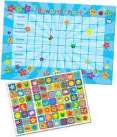 Wholesalers of Superstar Reward Chart Reward Chart And Stickers toys image 2