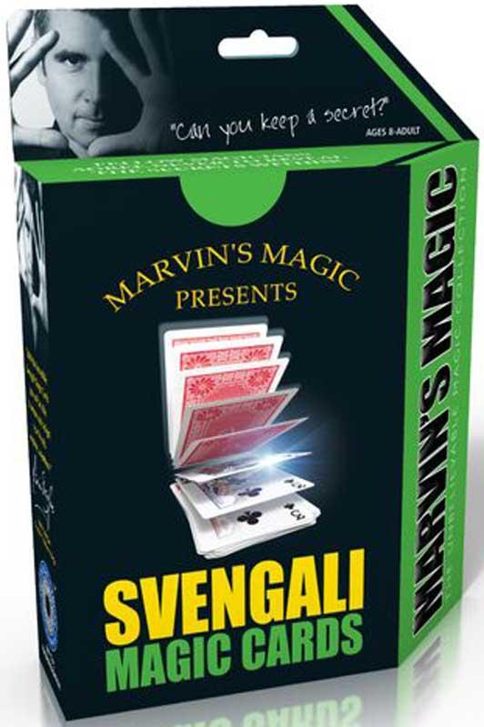 Wholesalers of Svengali Magic Cards Multilingual toys