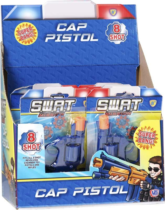 Wholesalers of Swat Mission 8 Shot Cap Pistol toys