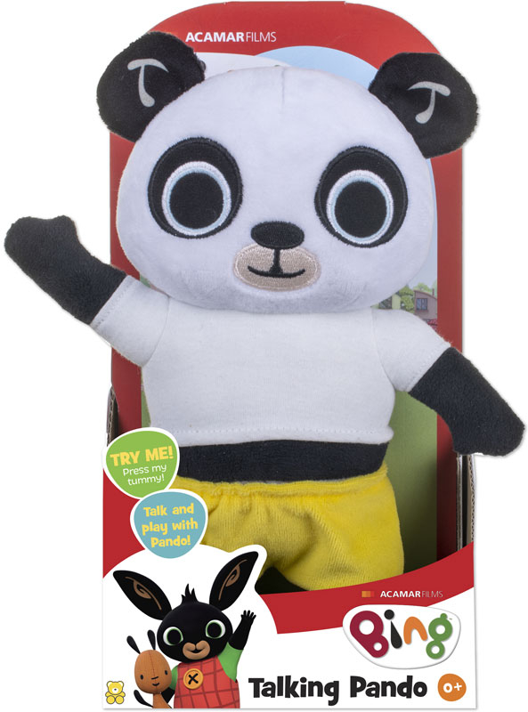 Wholesalers of Talking Pando Soft Toy toys