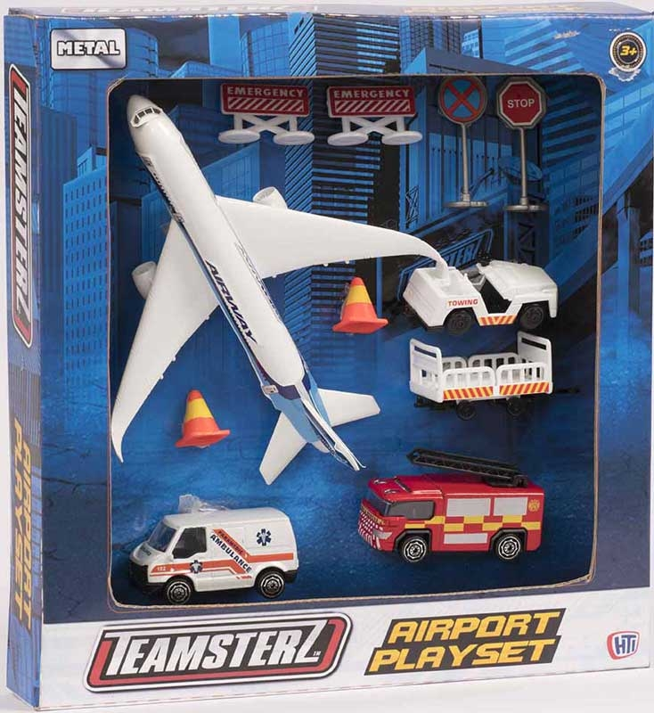 Wholesalers of Teamsterz 3 Inch Die-cast Airport toys