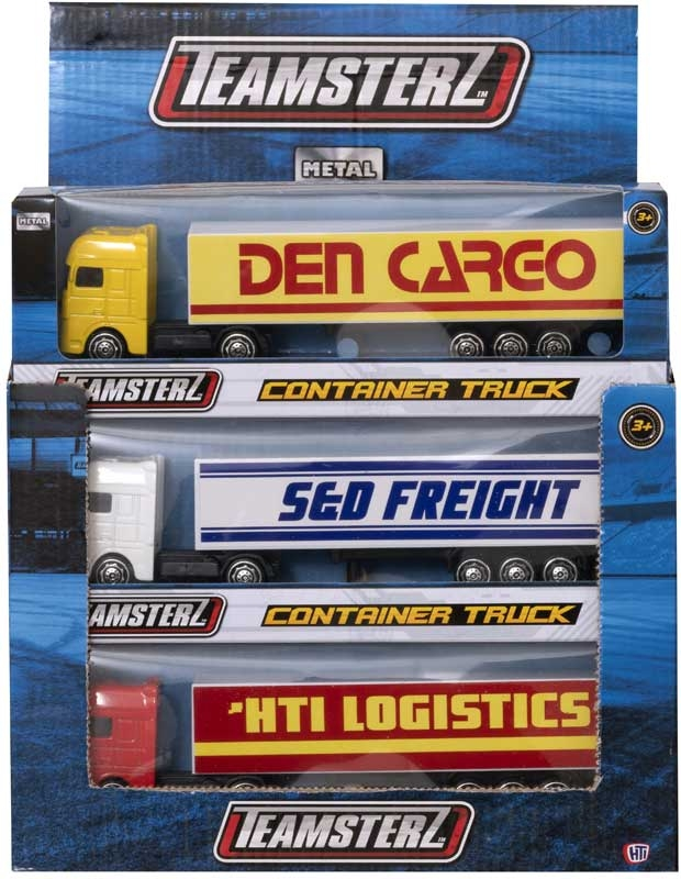 Wholesalers of Teamsterz 3 Inch Die-cast Container Truck Asst toys