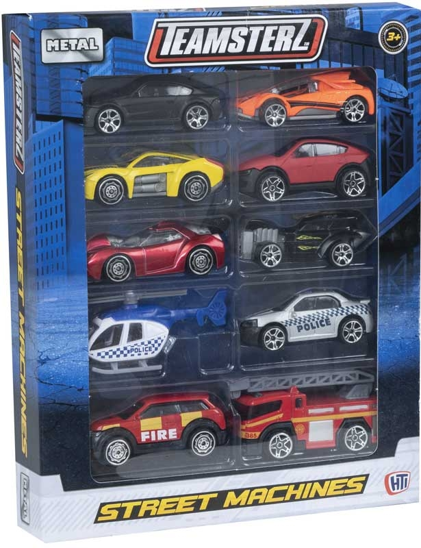Wholesalers of Teamsterz 3 Inch Street Machines 10 Pk toys