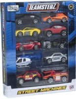 Wholesalers of Teamsterz 3 Inch Street Machines 10 Pk toys Tmb