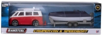 Wholesalers of Teamsterz 4 Inch Campervan & Speedboat toys image