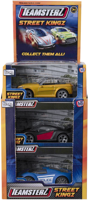 Wholesalers of Teamsterz 4 Inch Die-cast Cars toys