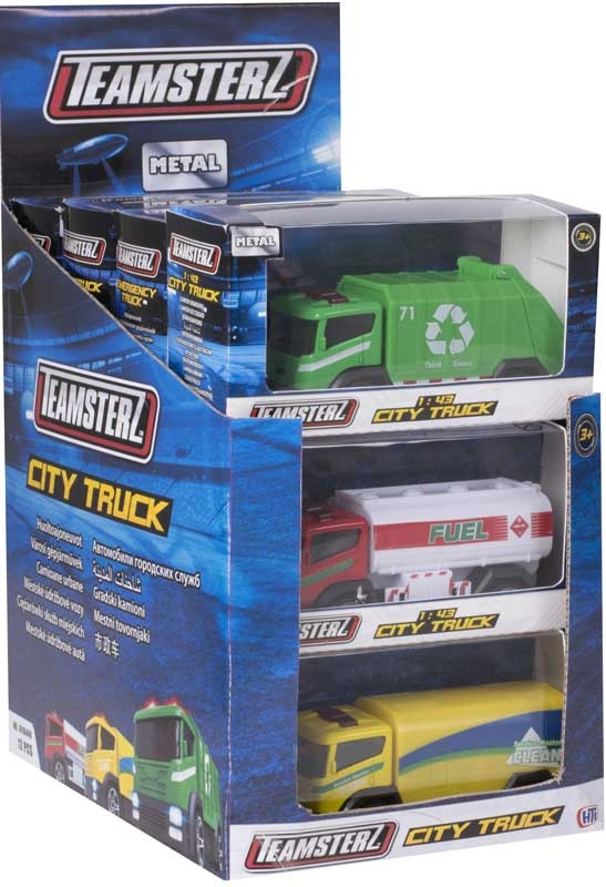 Wholesalers of Teamsterz 4inch City Trucks toys