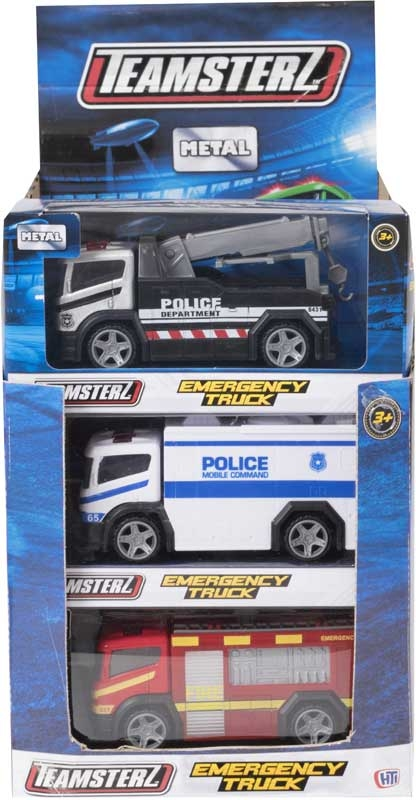 Wholesalers of Teamsterz 4inch Emergency Trucks toys