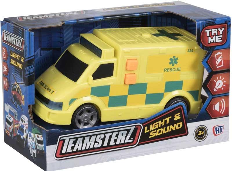 Wholesalers of Teamsterz Ambulance Uk toys