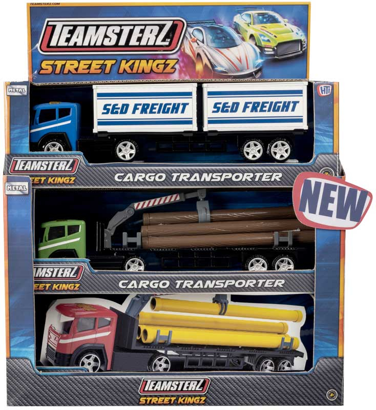 Wholesalers of Teamsterz Cargo Transporter Asst toys
