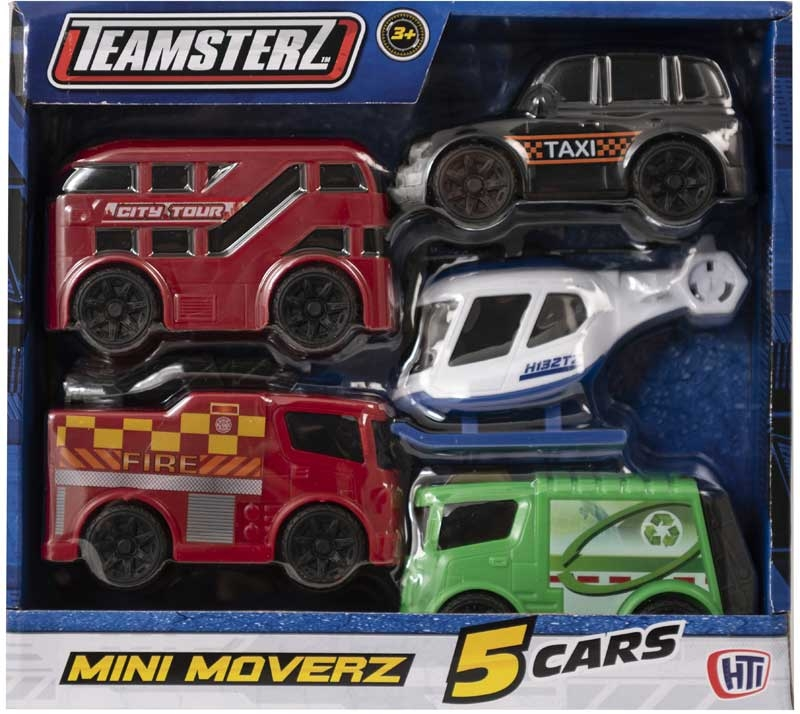 Wholesalers of Teamsterz City Mini Moverz 5pk (uk) toys