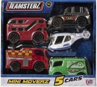 Wholesalers of Teamsterz City Mini Moverz 5pk (uk) toys image