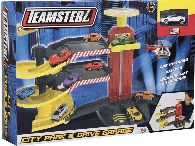 Wholesalers of Teamsterz City Park & D Garage 1 Car toys