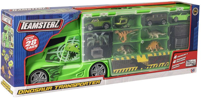 Wholesalers of Teamsterz Dinosaur Transporter toys