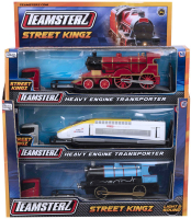 Wholesalers of Teamsterz Heavy Engine Transporter toys image