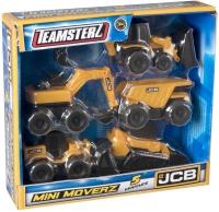 Wholesalers of Teamsterz Jcb Mini Moverz 5pk toys image