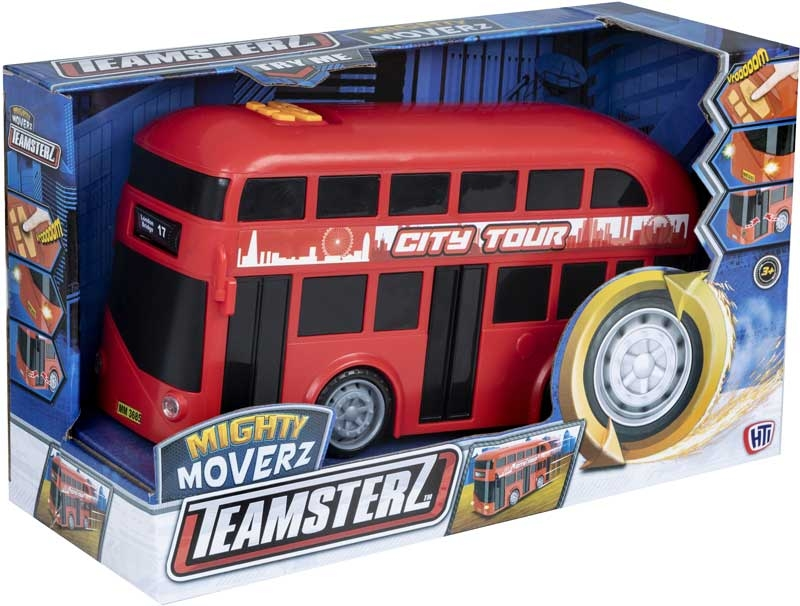 Wholesalers of Teamsterz Mighty Moverz Double Decker toys
