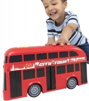 Wholesalers of Teamsterz Mighty Moverz Double Decker toys image 2