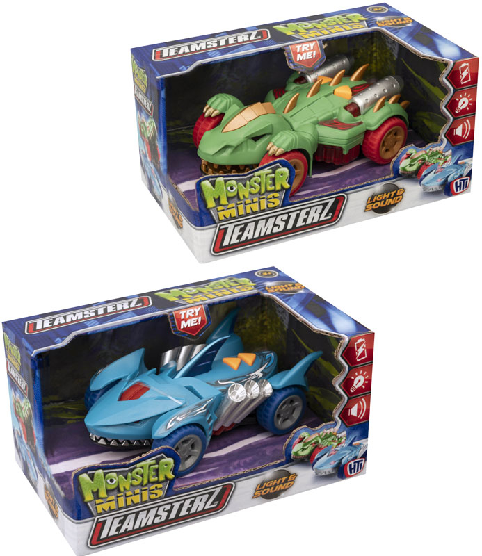 Wholesalers of Teamsterz Monster Minis toys