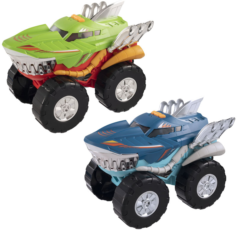 Wholesalers of Teamsterz Monster Moverz Robo Shark toys