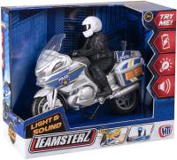 Wholesalers of Teamsterz Police Bike toys image