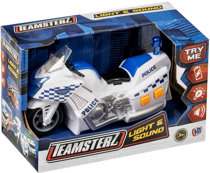 Wholesalers of Teamsterz Police Motorbike toys