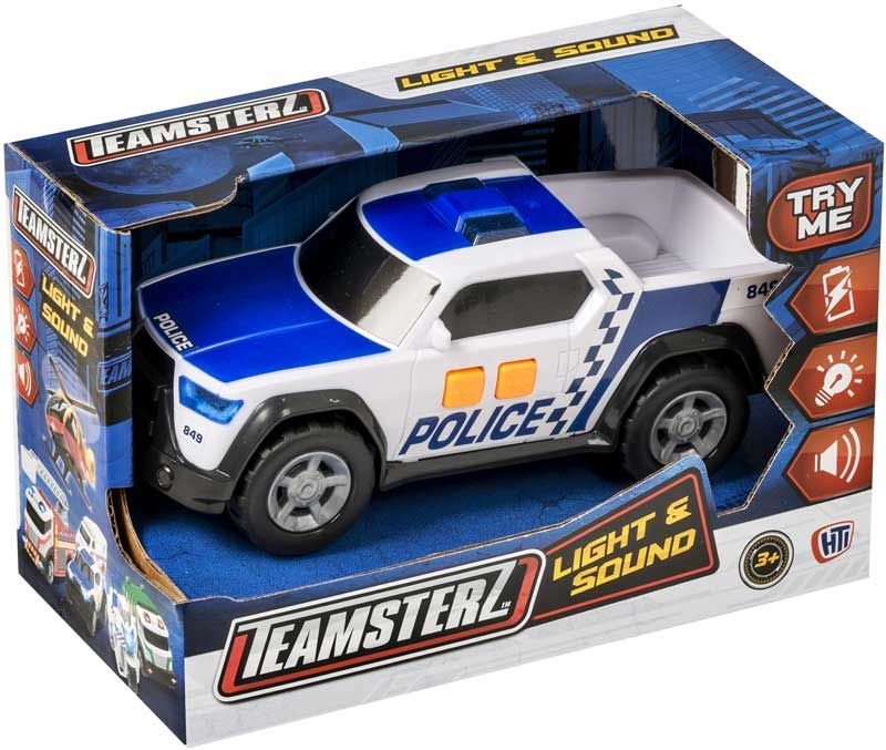 Wholesalers of Teamsterz Police Pick Up toys