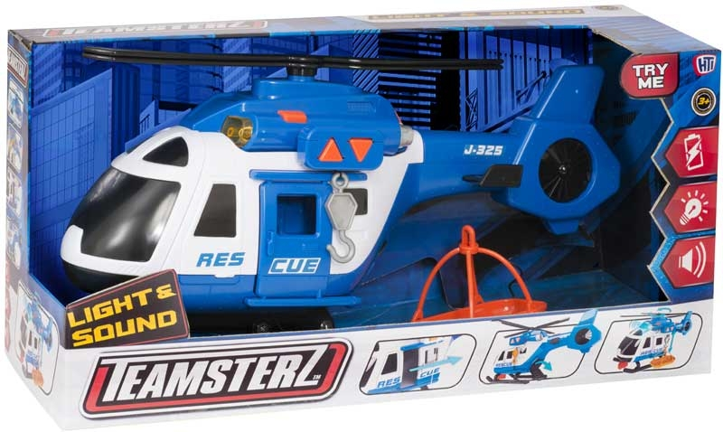 Wholesalers of Teamsterz Rescue Helicopter toys