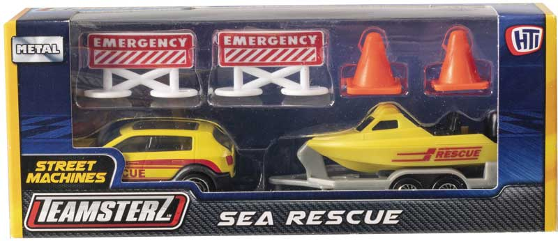 Wholesalers of Teamsterz Sea Rescue toys